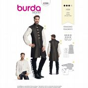 6399 Burda Pattern: Men's Renaissance Costume